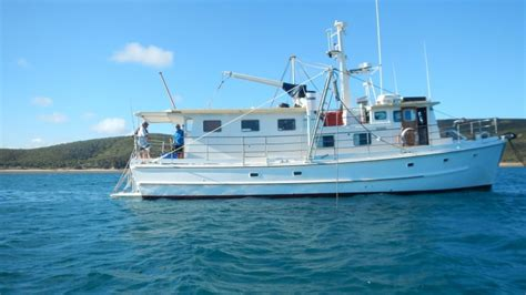 Fishing Boat Charter For Sale by Swains Reef Charter Fishing Vessel For Sale