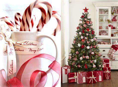 Decoration Rouge Et Blanc Pour Noel
