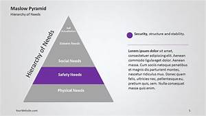 Maslow U0026 39 S Pyramid Of Needs Ppt Multicolor Diagram