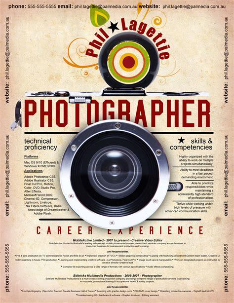 Creative Photographer Resume Templates by 50 Creative Cv Resume Design Inspiration