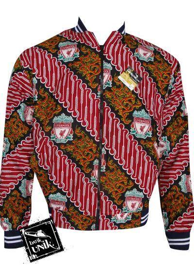 baju batik jaket motif batik bola jaket murah batikunik