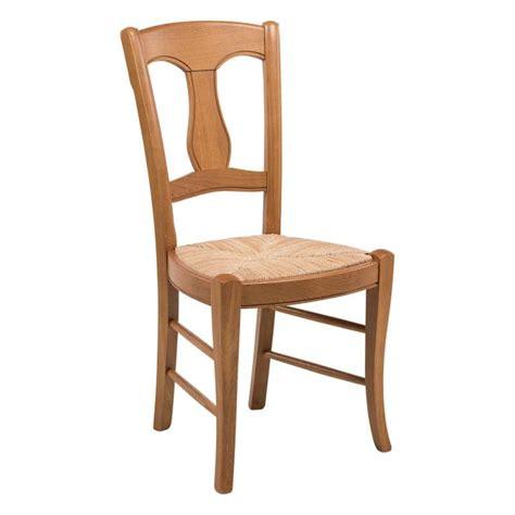 dessus de chaise en paille chaise rustique en paille de seigle et chêne massif 263