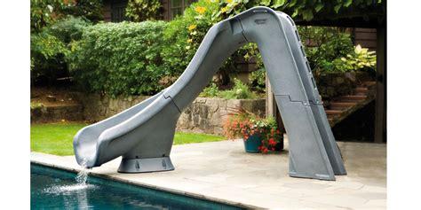 toboggan gonflable pour piscine enterree toboggan typhon gris granit pour piscine enterr 233 e oogarden