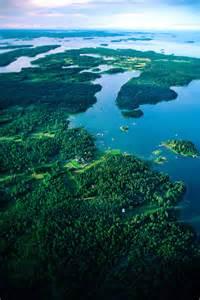 Archipelago Stockholm Aerial View