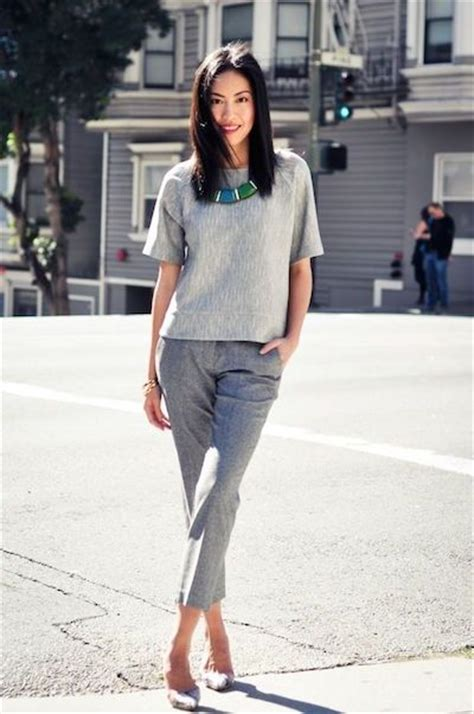 business look 2016 how to nail business casual beyond the skirt suit monotone grey and blazers