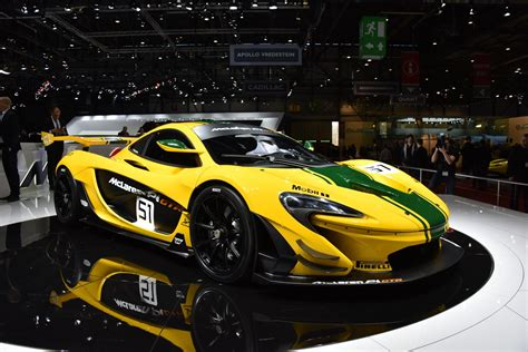Mclaren P1 Gtr Race Car Debuts At The Geneva Motor Show