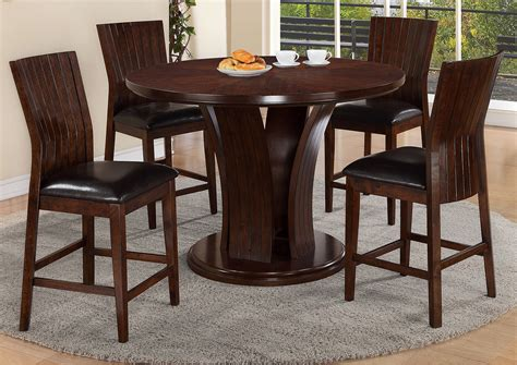 Counter Height Dining Room Tables by Ivan Smith Espresso Counter Height Dining Room