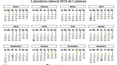 calendario catalunya