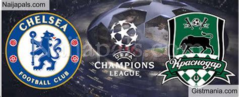 Chelsea v Krasnodar : UEFA Champions League Match, Team ...