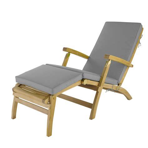 chaise longue 200 cm grey chaise longue mattress l 185 cm olé maisons du monde
