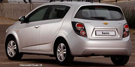 Chevy Sonic Ground Clearance by Chevrolet Sonic Hatch 1 3d Ls Specs In South Africa Cars