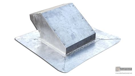 lead coated copper custom roof vent