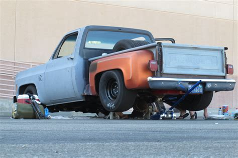 muscle truck keep building it or finish another project