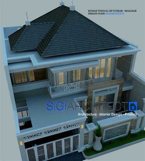 rumah klasik modern  lantai    arsitektur