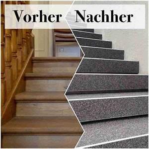 Holztreppe Abschleifen Und Neu Lackieren : holztreppe mit steinteppich renovieren steinteppich in ihrer n he ~ Orissabook.com Haus und Dekorationen