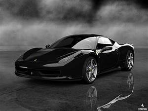 Ferrari 458 Noir : ferrari 458 italia noir 2013 fond ecran inspirats ~ Medecine-chirurgie-esthetiques.com Avis de Voitures