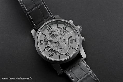 montre mont blanc homme flyback