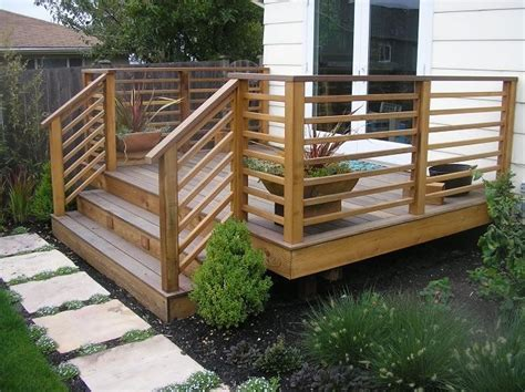 Porch Railing Wood - best 25 wood deck railing ideas on deck