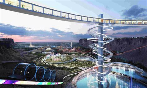 Neom: A futuristic city with cloud seeding, robots, AI ...
