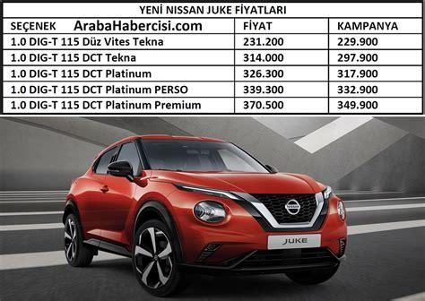 2021 Nissan Juke fiyat listesi. 2021 Juke fiyatları. Yeni ...
