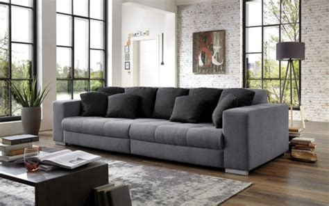 hardi big sofa ontario  grau von hardeck ansehen