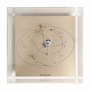 Orbiting Solar System Clock by Jeco at 1stdibs