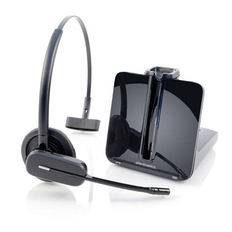 plantronics headset cs540 wireless dect cordless convertible headsets system user
