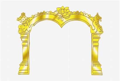 Temple Border Arch Clipart Transparent Pngkey