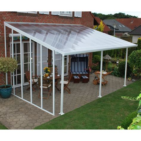 palram feria patio cover 10 ft sidewall kit greenhouse