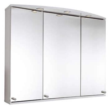 Gelson Danube three door mirror cabinet   UK Bathrooms