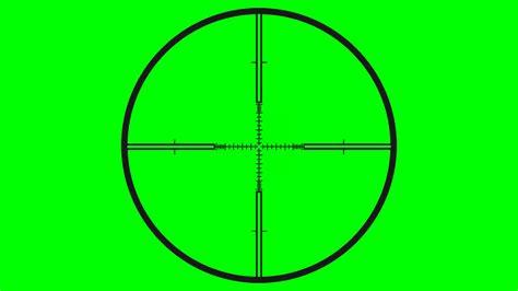ösenvorhang Weiß Transparent sniper scope crosshair 4 hd transparent footage