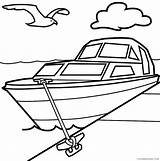 Dock Template Coloring Boat Pages Loading sketch template