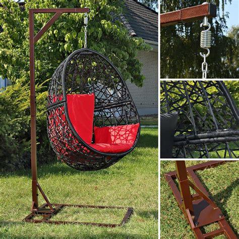 Hamac De Jardin Hamac De Jardin Suspendu Support M 233 Tal Noir