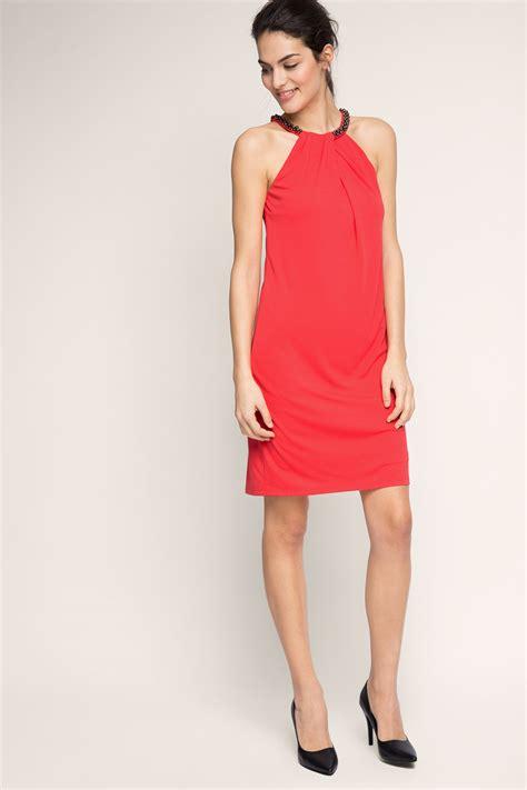 Esprit  Geschmeidiges Kleid mit Schmucksteinen im Online