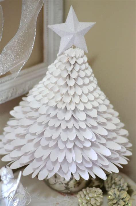 comment faire des decoration de noel en papier d 233 co no 235 l originale 224 faire soi m 234 me sapin de no 235 l en papier