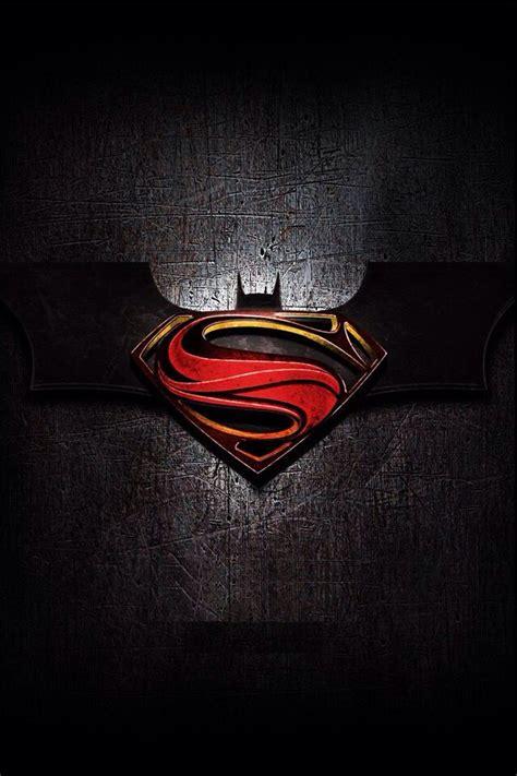batman  superman logo wallpapers  wallpapersafari