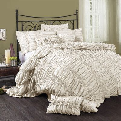 Lush Decor Serena 3 Comforter Set by Madelynn 3 Comforter Set Lush Comforter And Decor