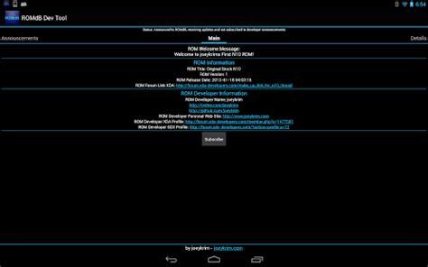 app romdashboard developer tool apk for windows phone android apk apps for