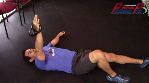 shoulder kettlebell impingement arm bar