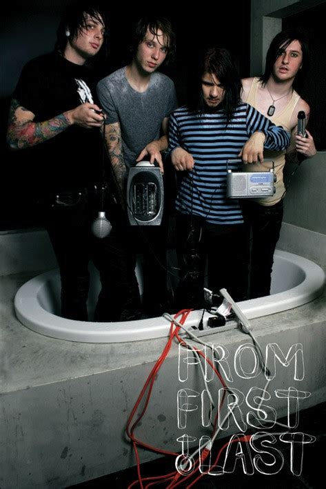 From First To Last posters - FFTL Bathtub poster PP30649 ...
