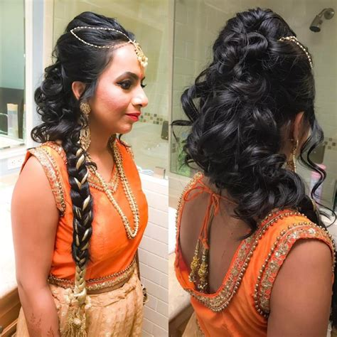 indian bridal hairstyles    indian weddings