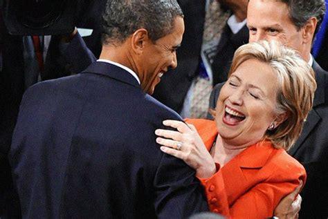Obama Laughing Meme - hillary obama laugh blank template imgflip