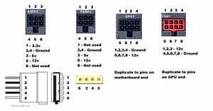 Computer Power Supply Pin Diagram On Off