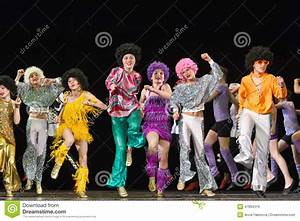Children Dancing On Stage Editorial Stock Image - Image ...