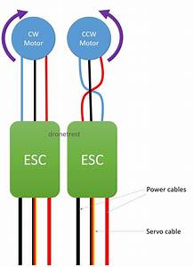 Esc To Motor Connection Guide
