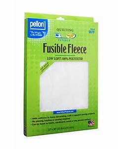 987F Fusible Fleece Pellon® Projects