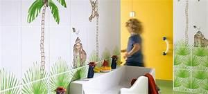 faience de salle de bains pour enfant par steuler blog With carrelage salle de bain enfant
