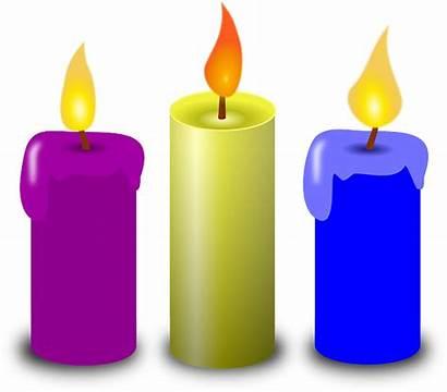 Candle Magenta Yellow Pixabay Graphic Vector