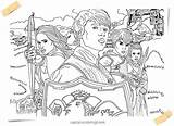 Narnia Coloring Pages Army Arad Pm sketch template