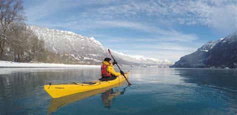 winter kayaking hightide